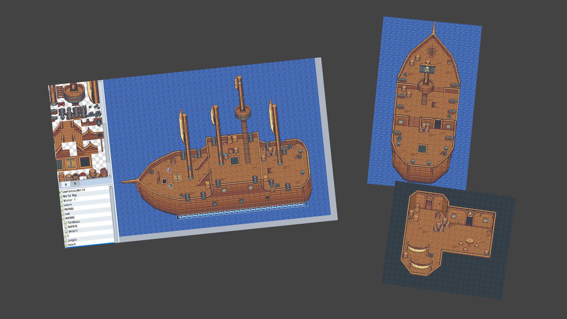 RPG Maker MV - Time Fantasy Ship