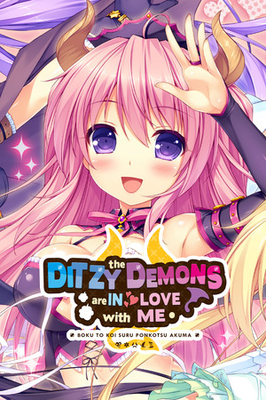 The Ditzy Demons Are in Love With Me poster image on Steam Backlog
