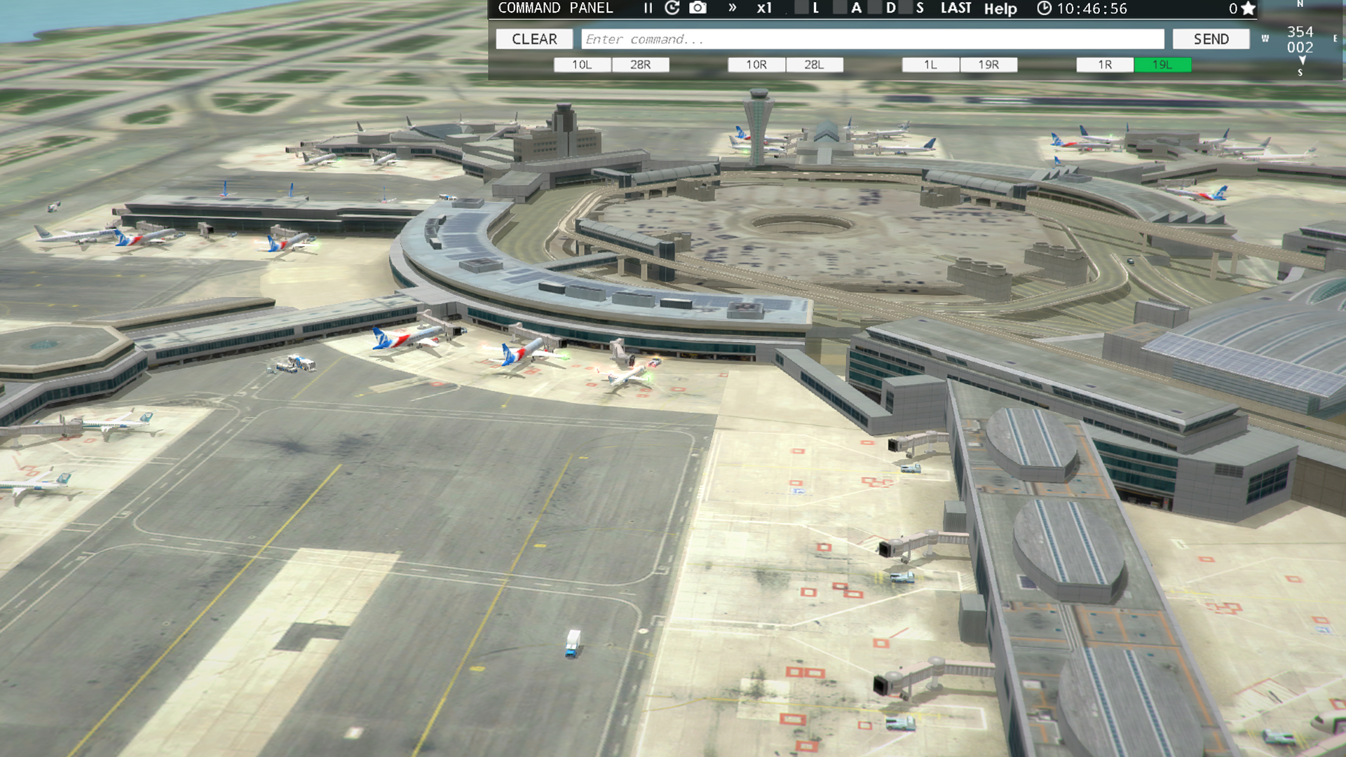 San Francisco [KSFO] airport for Tower!3D Pro Steam Discovery