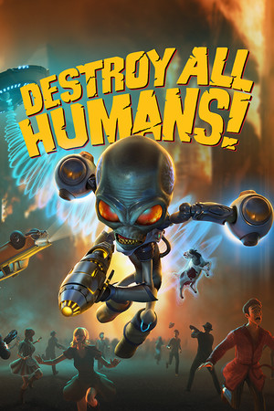 Destroy All Humans! poster image on Steam Backlog