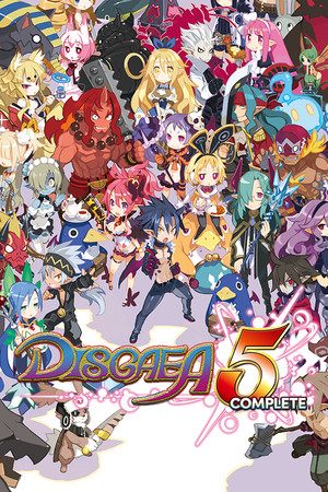 Disgaea 5 Complete poster image on Steam Backlog