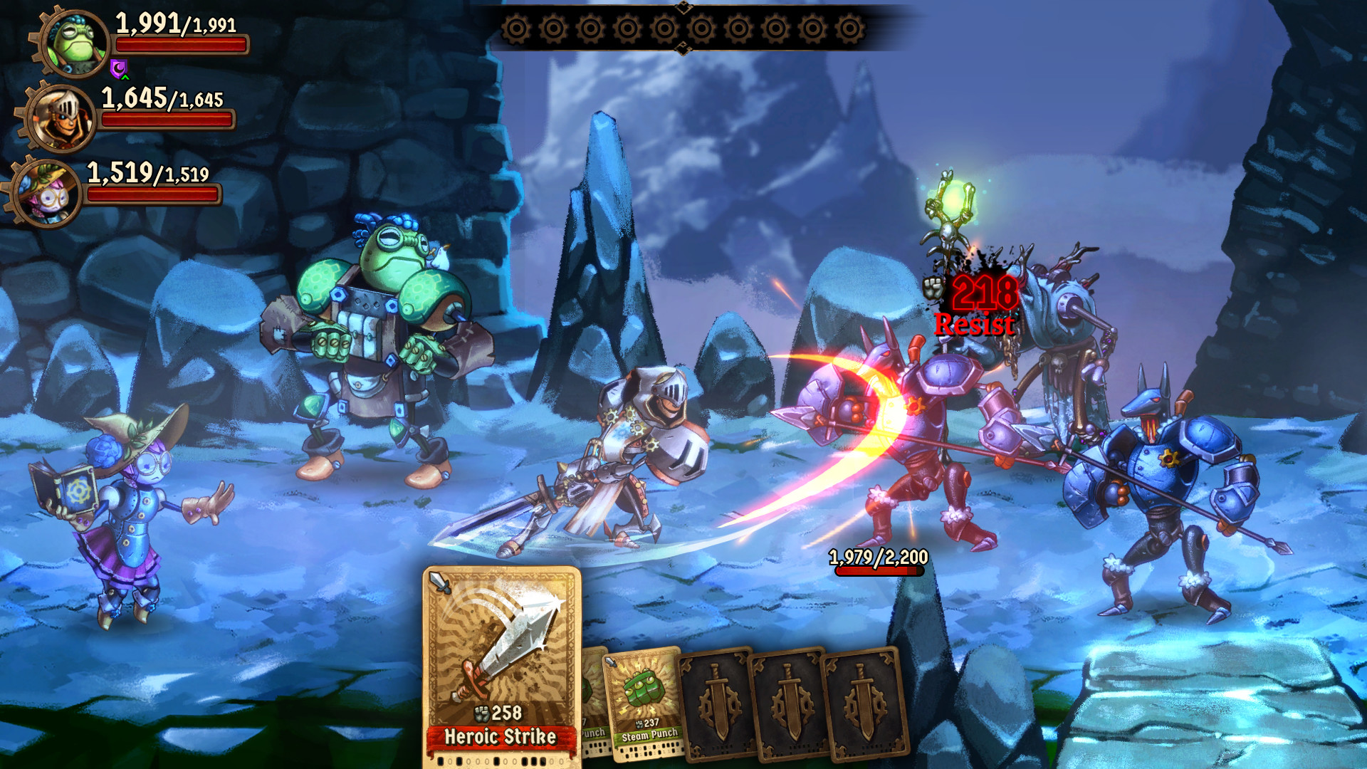 SteamWorld Quest: Hand of Gilgamech Screenshot 3