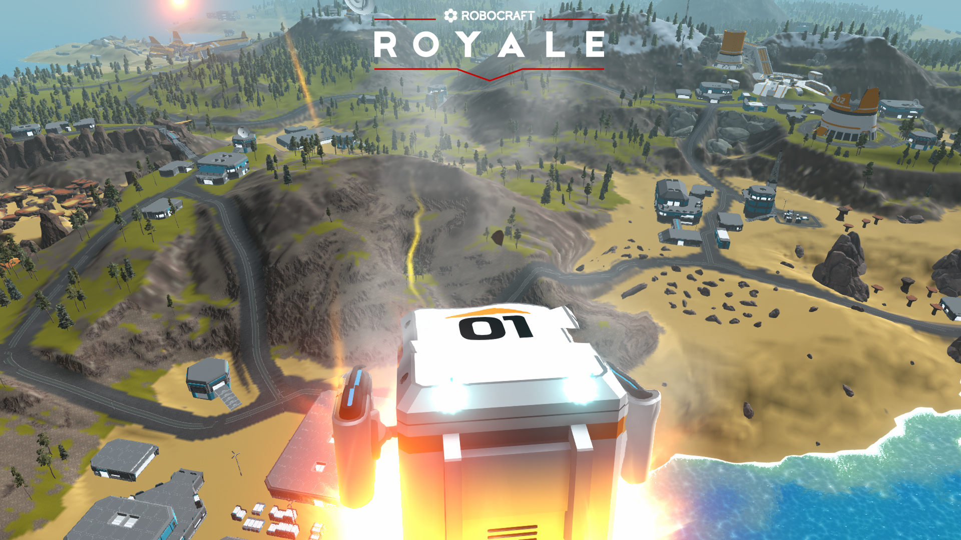 What's On Steam - Robocraft Royale
