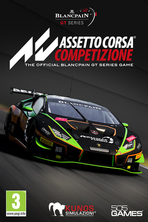 Assetto Corsa Competizione poster image on Steam Backlog