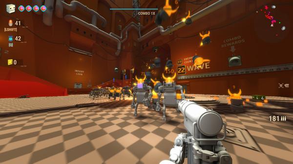 Скриншот из ARMORED HEAD