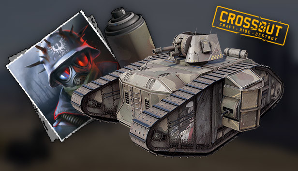 Crossout - Iron Shield pack - Info - IsThereAnyDeal