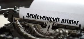 Achievement printer part 1 cover art