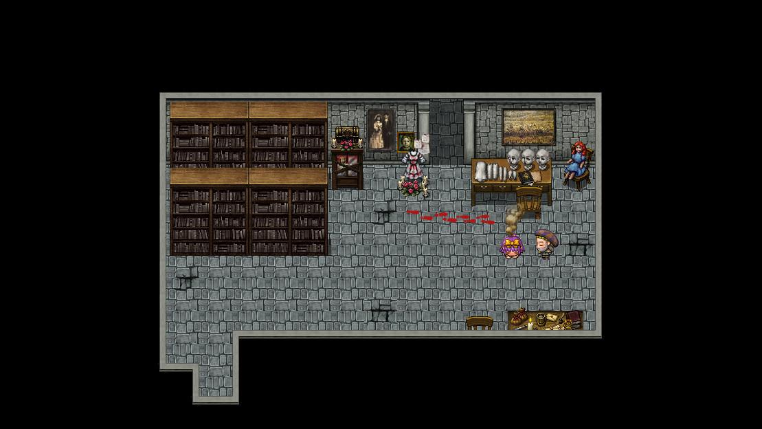 RPG Maker MV - Haunted School Tiles