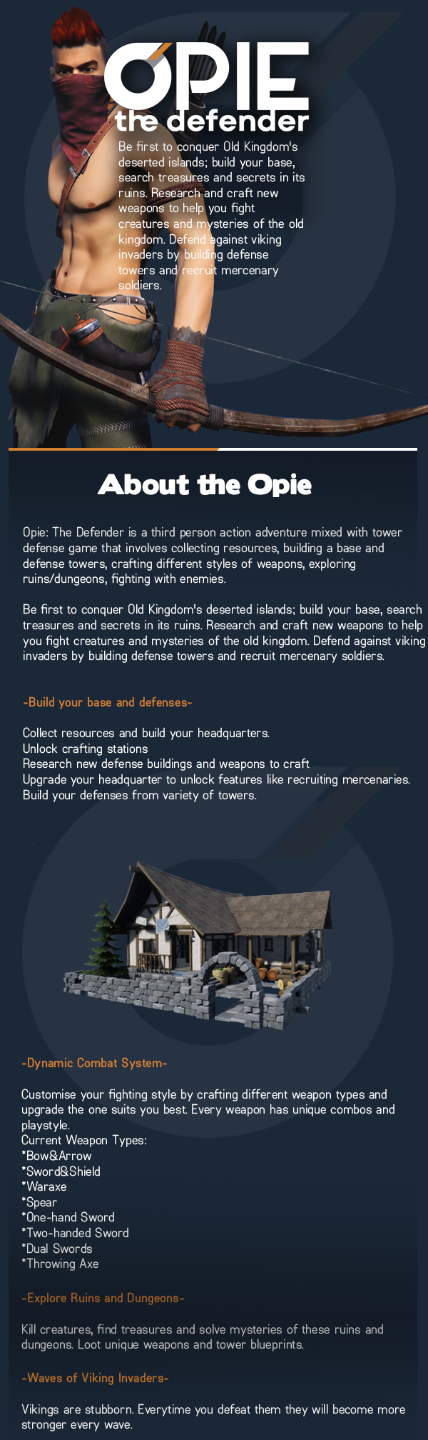 Opie: The Defender on Steam