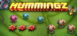 Hummingz - Retro Arcade action revised cover art