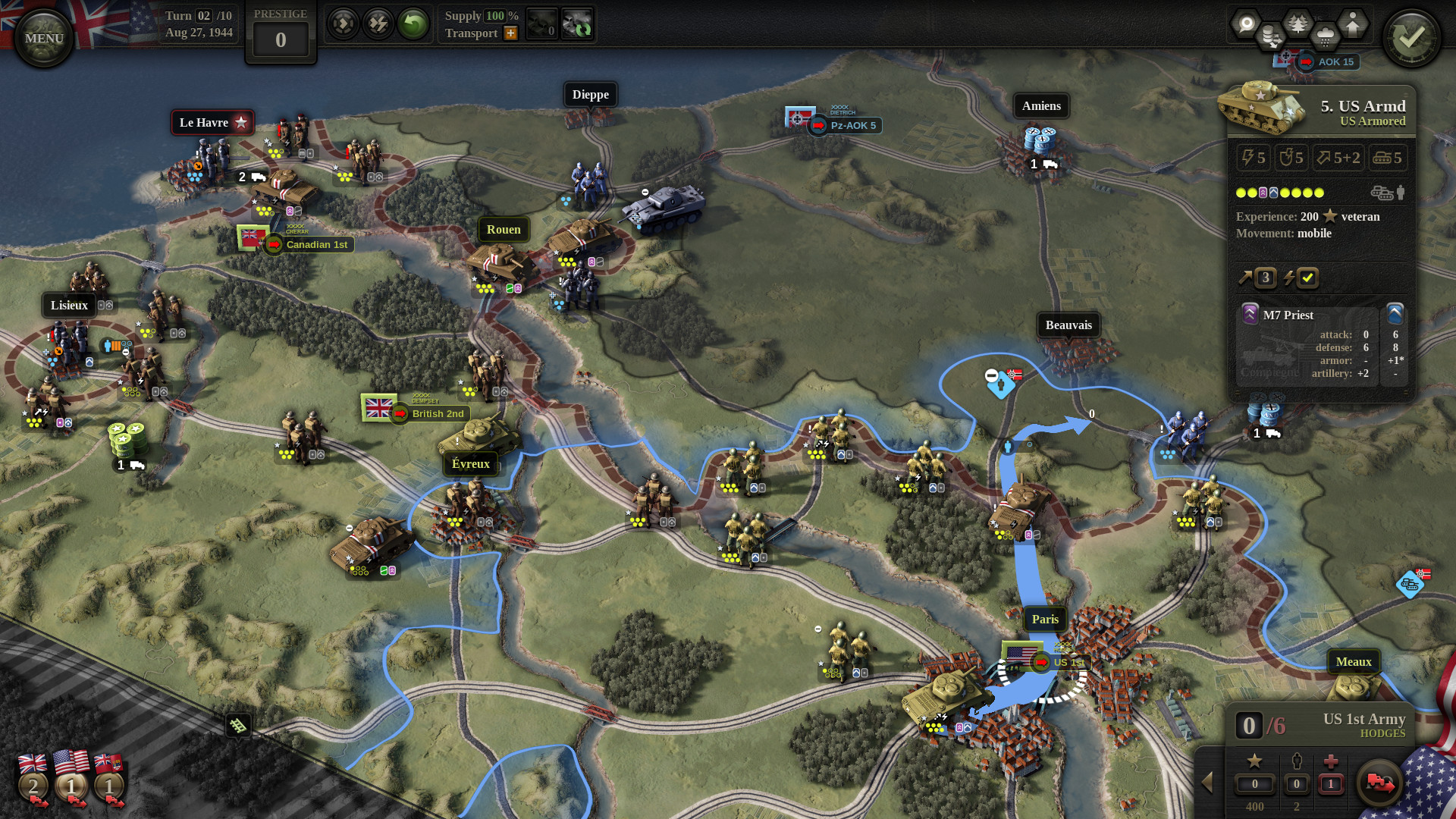 Unity of Command II - goes Western Front with new 3D engine