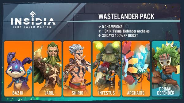 INSIDIA - Wastelander Pack (DLC)