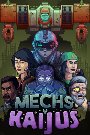 Mechs V Kaijus poster image on Steam Backlog