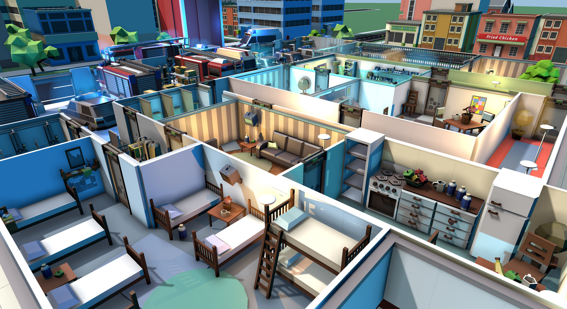 Rescue HQ - The Tycoon Download PC
