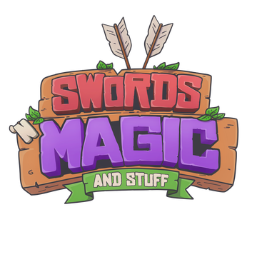 Swords 'n Magic and Stuff logo
