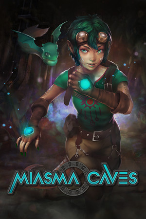 Miasma Caves poster image on Steam Backlog
