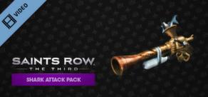 Saints Row: The Third Shark Attack DLC Trailer cover art