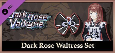Dark Rose Valkyrie: Dark Rose Waitress Set / 黒薔薇ノ給仕セット / 黑薔薇的侍從禮包
