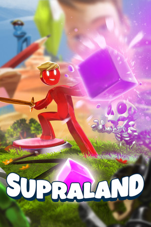 Supraland poster image on Steam Backlog
