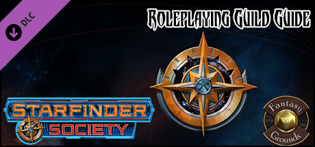 Fantasy Grounds - Starfinder RPG - Starfinder Society Roleplaying Guild Guide (SFRPG)