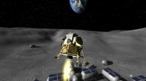 Lunar Flight video