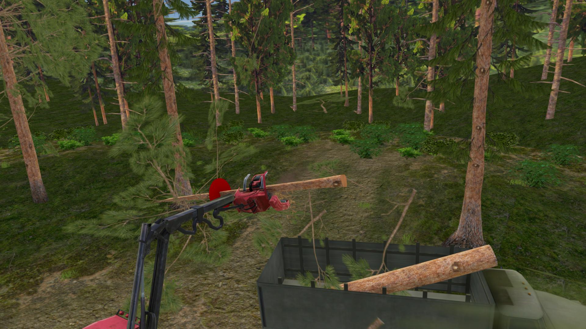 save 75 on forest harvester simulator on steam