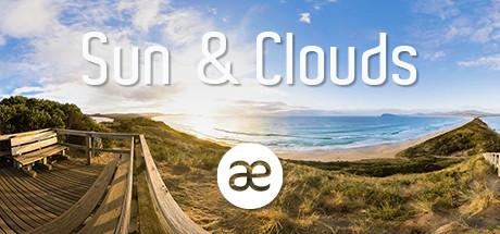 Sun & Clouds | VR Travel Timelapse | 360° Video | 6K/2D