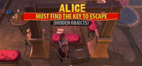 Alice Must Find The Key To Escape (Hidden Objects)