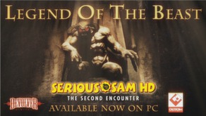 Serious Sam HD: The Second Encounter - Legend of the Beast DLC video
