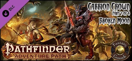 Fantasy Grounds - Pathfinder RPG - Carrion Crown AP 3: Broken Moon (PFRPG)