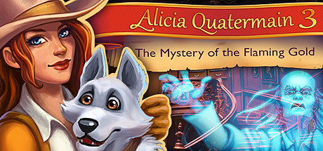 Teaser image for Alicia Quatermain 3: The Mystery of the Flaming Gold