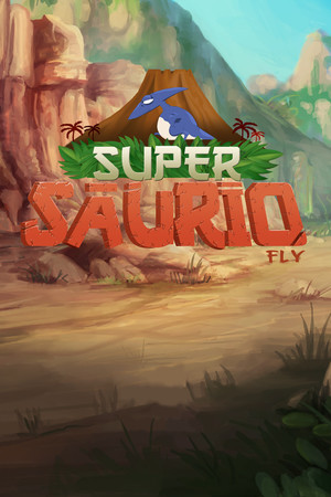 Super Saurio Fly: Jurassic Edition poster image on Steam Backlog