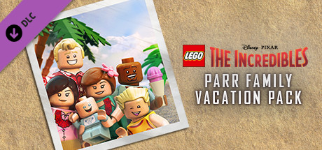 LEGO® The Incredibles - Parr Family Vacation Character Pack