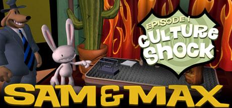 Sam & Max 101: Culture Shock Cover Image