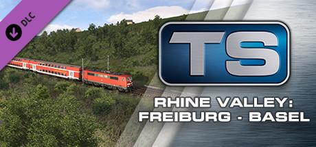 Train Simulator: Rhine Valley: Freiburg - Basel Route Add-On