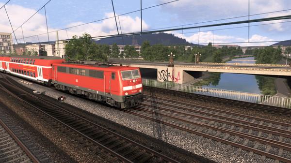 скриншот Train Simulator: Rhine Valley: Freiburg - Basel Route Add-On 0