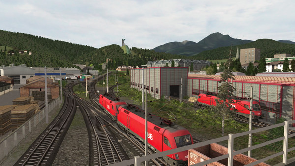 скриншот Train Simulator: Tirol: Brenner - Kufstein Route Add-On 1