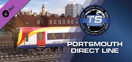 Train Simulator: Portsmouth Direct Line: London Waterloo - Portsmouth Route Add-On