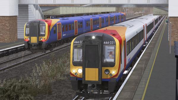 скриншот Train Simulator: Portsmouth Direct Line: London Waterloo - Portsmouth Route Add-On 3