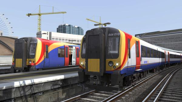 скриншот Train Simulator: Portsmouth Direct Line: London Waterloo - Portsmouth Route Add-On 0