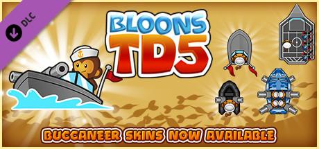 Bloons TD 5 - Navy Monkey Buccaneer Skin