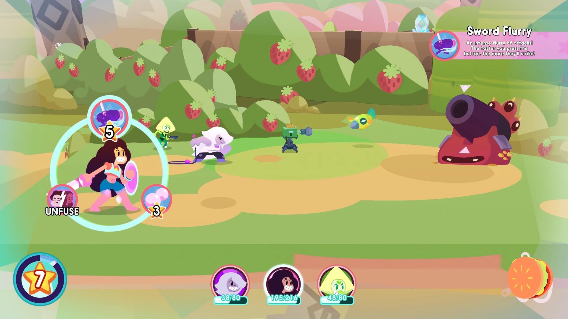 Steven Universe: Save the Light Screenshot 3
