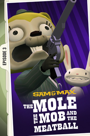 Sam & Max 103: The Mole, the Mob and the Meatball poster image on Steam Backlog