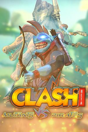 Clash: Mutants Vs Pirates poster image on Steam Backlog