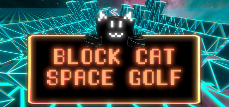 BLOCK CAT SPACE GOLF