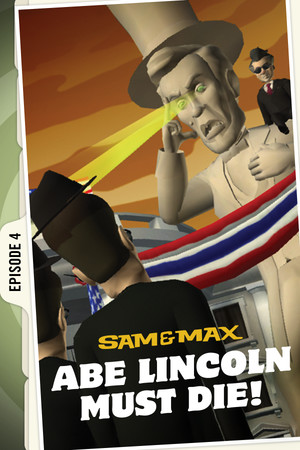 Sam & Max 104: Abe Lincoln Must Die! poster image on Steam Backlog