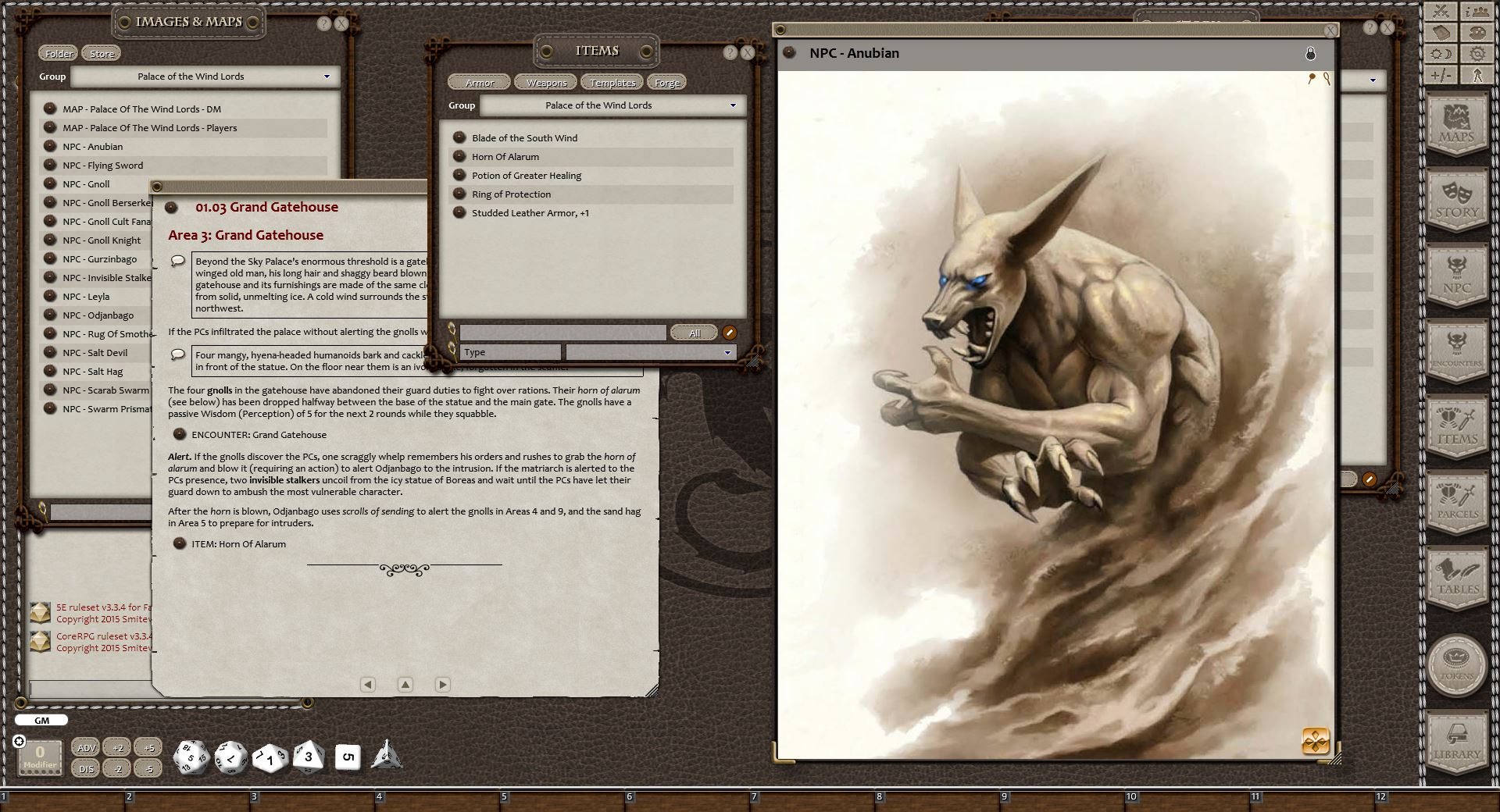 Fantasy Grounds - Eldritch Lairs (5E)