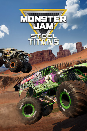 Monster Jam Steel Titans poster image on Steam Backlog