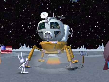 Скриншот из Sam & Max 106: Bright Side of the Moon