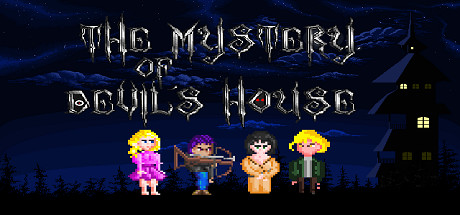 The Mystery of Devils House cover art